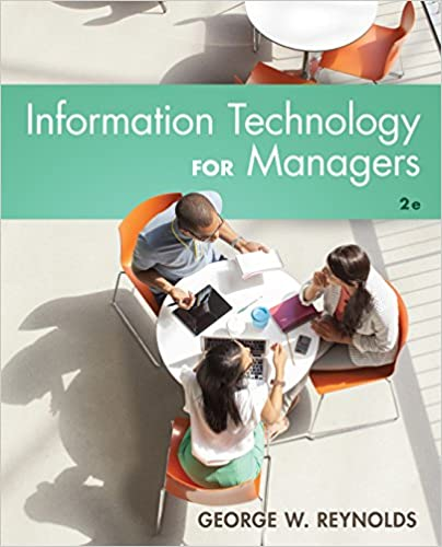 test bank for Information Technology for Managers 2nd edition by George Reynolds