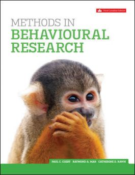 Test bank for Methods In Behavioural Research 3rd Edition by Paul C. Cozby