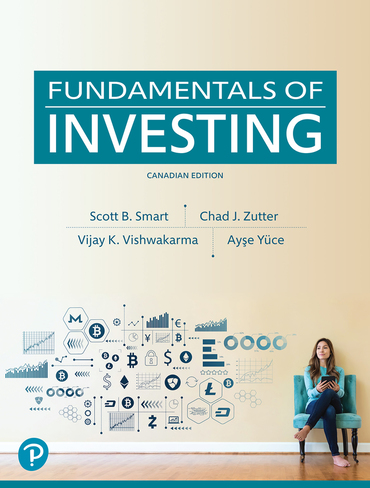 Test bank for Fundamentals of Investing 1st Canadian Edition by Scott B. Smart