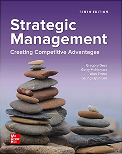 Solution manual for Strategic Management: Creating Competitive Advantages 10th edition by Gregory Dess