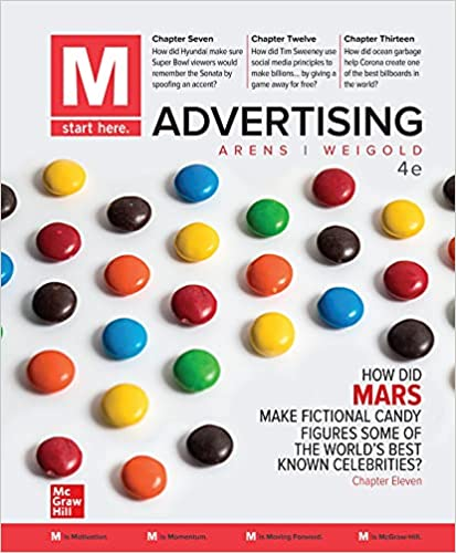 Solution manual for M: Advertising 4th edition by William Arens