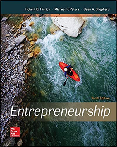 Test bank for Entrepreneurship 10th Edition by Robert Hisrich