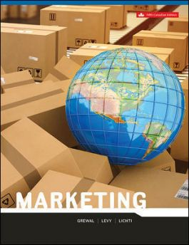 Test bank for Marketing 5th Canadian Edition by Dhruv Grewal